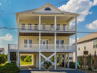 Recovery Room: 5 BR / 3.5 BA house in Surf City, Sleeps 10
