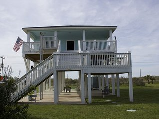 Handicapped Accessible Beautiful Beach Cottage - 160 steps to the sand