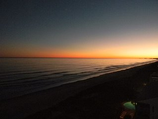 Oceanfront! Great Views, Direct Oceanfront end unit - Booking now