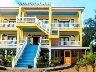 Large Beautiful Home on Private Beach