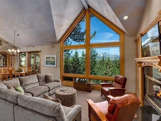 Luxury South Lake Lake Tahoe Rental with Gorgeous Mountain Views