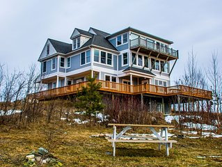 Experience Northern Michigan in a One Of A Kind Retreat with Stunning Views