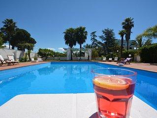 Villa in campagna con piscina privata,campo da tennis a cinque minuti dal mare