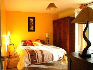 Chaleureux appartement à St Paul en chablais proche Evian et Suisse. WIFI.