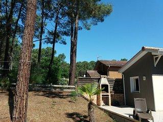 Carcans Maubuisson: villa spacieuse proche du lac et de l'ocean avec  wifi