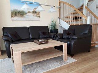 Familienfreundliches Ferienhaus am Meer komplett und hochwertig ausgestattet!