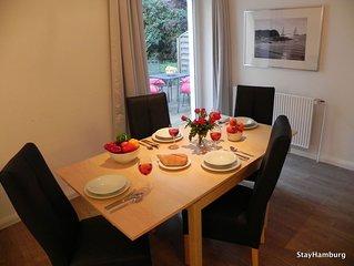 2-Zi.-Apartment 'Neue Flora', modernes Apartment für bis zu 5 Pers., inkl. WLAN