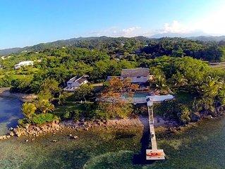 Ein Platz im Paradies - Familien-Villa auf Halbinsel direkt am Meer