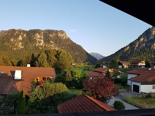 Gemutliche Dachgeschosswohnung am Tor zu den Alpen in Inzell