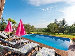 Romantisches Ferienhaus m/ Pool, grossem Garten, wenige Minuten vom Meer