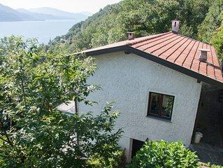 Sehr schone Ferienwohnung bei Cannobio mit Panoramablick auf den Lago Maggiore