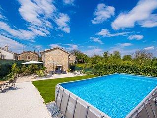 Schöner Pool Villa im Herzen der Istrien