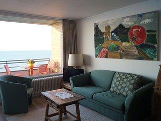Gemütliche Ferienwohnung am Oststrand mit Meerblick