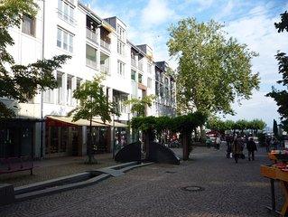 Friedrichshafen Altstadt - Grosszugig eingerichtete Ferienwohnung am See (95 qm)