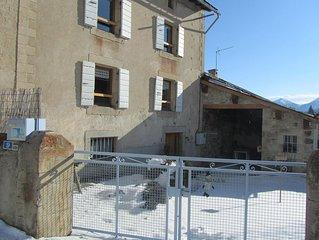 vacances à la montagne : Cal Peyre, maison de village à Bolquère-Pyrénées 2000