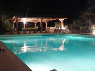Villa 7 ch 6 sdb recente spacieuse au calme proche plages Ajaccio Porticcio