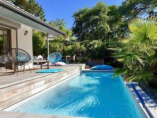Villa au Moulleau, plage a 200m