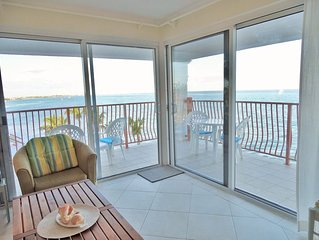 Ocean front Delaporte Condo with Amazing Views