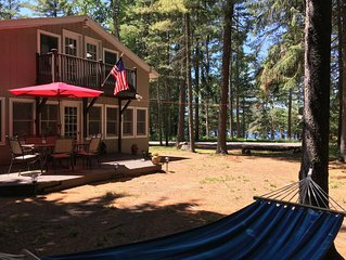 Upper Saranac Lake with Beach Access and Dock