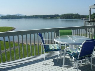 Lazy Days at Bernards Landing.  Excellent view, quiet side of the resort