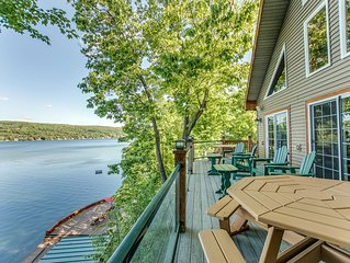 Lake Shore Lodge on Keuka Lake's East Bluff