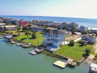 BRAND NEW 5BRM LUXURY BEACH RENTAL- ON INLET W/PRIVATE POOL & STEPS TO OCEAN�