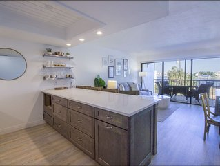 Designer Condo! Walk to Beach! Bay Views! Full Reno Just Completed - 2020 Avail