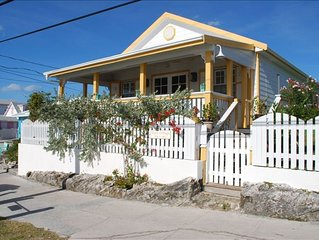 Perfectly Located, in Picturesque Heart of Hope Town with Dock
