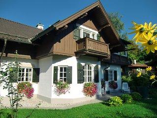 Vier Sterne Ferienhaus mit traumhaften Blick und großem eigenem Garten
