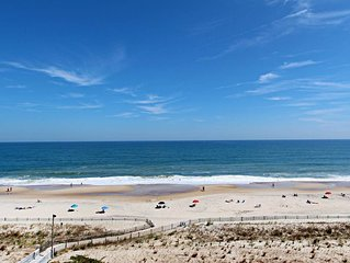 H706: 2BR+Den Sea Colony OCEANFRONT condo! Private beach, pools, tennis ...