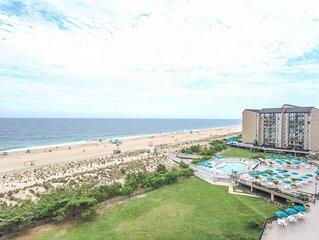 D807: 2BR Sea Colony Oceanfront Condo | Private beach, pool, tennis ...
