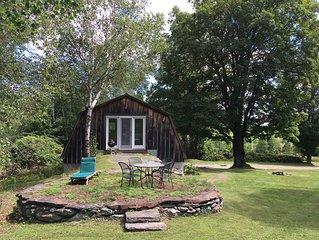 Solar-Powered Barn Loft