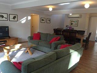 Lounge, TV, DVD, dining