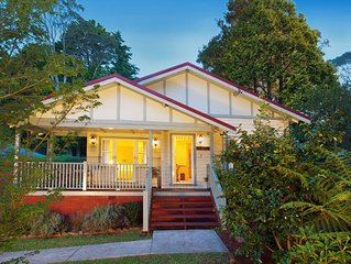 Brantwood Cottage Luxury Blue Mts Accommodation