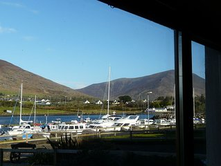 The House On The Marina quiet location stunning views of the  Wild Atlantic Way.