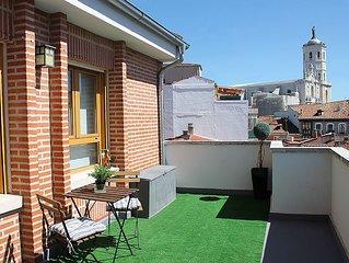 Atico centro con gran terraza, reformado y soleado. Wifi - Licencia