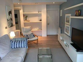 GROS Tranquilo apartamento 100 metros de la Playa de la Zurriola, Nºreg ESS00575