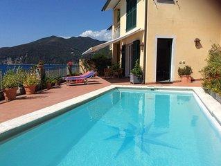 Splendido appartamento con terrazzo panoramico con piscina ad uso esclusivo