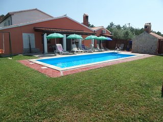 Family-Friendly Villa Belvedere with great garden and private pool