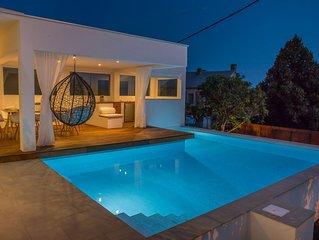 Haus mit pool, wifii