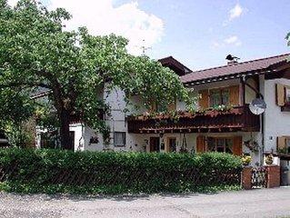 Landhaus in Oberstorf-Kornau, ruhig, gemütlich, im Sommer  Bergbahnen Inklusive