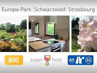 Apartment near Strasbourg - Europapark - Schwarzwald. 80sq