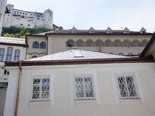 Neue Wohnung 100 Meter vom Salzburger Dom direkt am Fusse der Festung