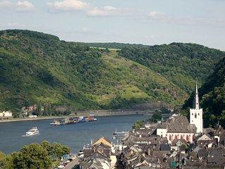 Grosses Ferienhaus fur 6-10 Personen in St. Goar am romantischen Mittelrhein