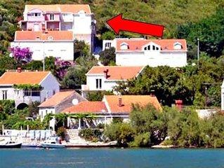 Apartments Peco - Apartment mit 4 Schlafzimmern, Balkon und Meerblick