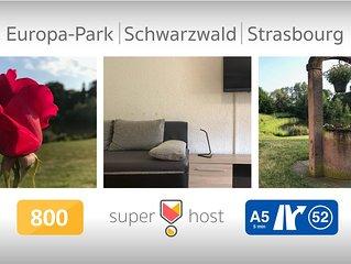 Apartment near Strasbourg - Europapark - Schwarzwald  70sq