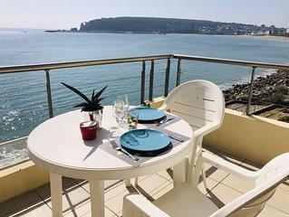 appartement T2 avec vue spectaculaire sur l'ocean