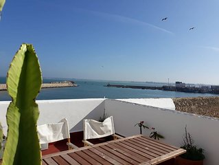 Maison Locale vue mer-Cité Portugaise