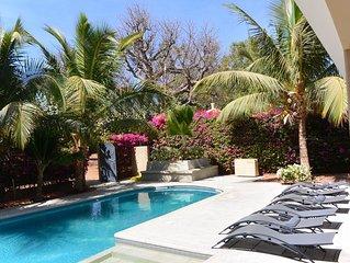 Magnifique villa à 150 mètres de l'océan avec piscine privée