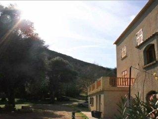 Grande villa 16 couchages à Corte